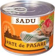Pate de pui Sadu
